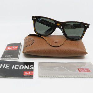 RB 2140 902/58 Ray-Ban Wayfarer Havana Sunglasses
